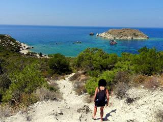 Altra spiaggia sconosciuta nei pressi di Foca. Fotografia di Flavia Serafini.