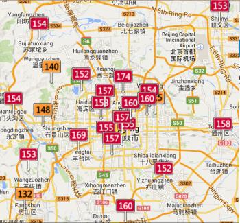 Panoramica delle principali stazioni di rilevamento della qualità dell'aria