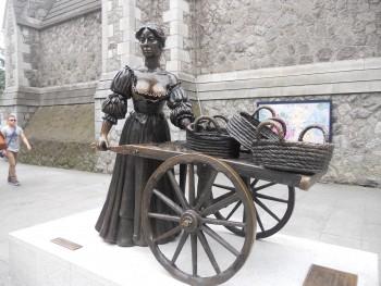 Statua di Molly Malone.