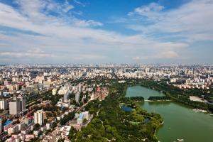 Il distretto di Haidian, sede delle principali università di Bejing.