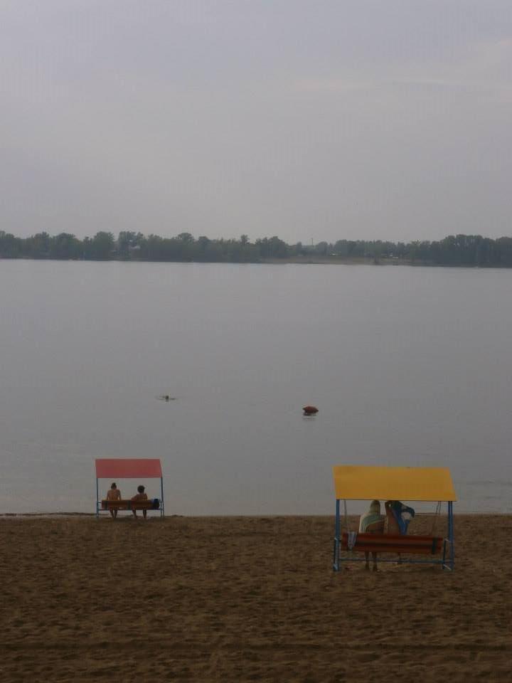 La spiaggia di Samara