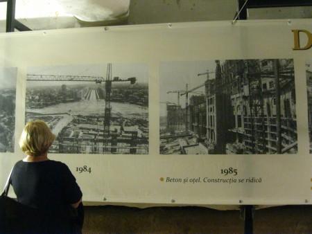 La costruzione dell'edificio: dal 1984 al 1985.