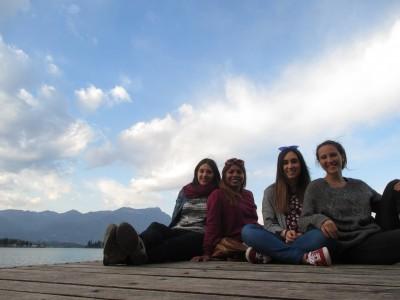Ane, Waisaly, Monica and Violeta