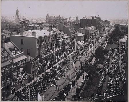 Inaugurazione della federazione del Commonwealth - Sydney 1901