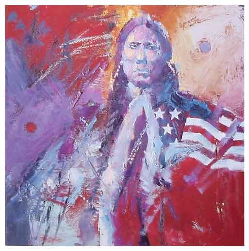 """Robert Orduno, """"Quanah Parker"""""""
