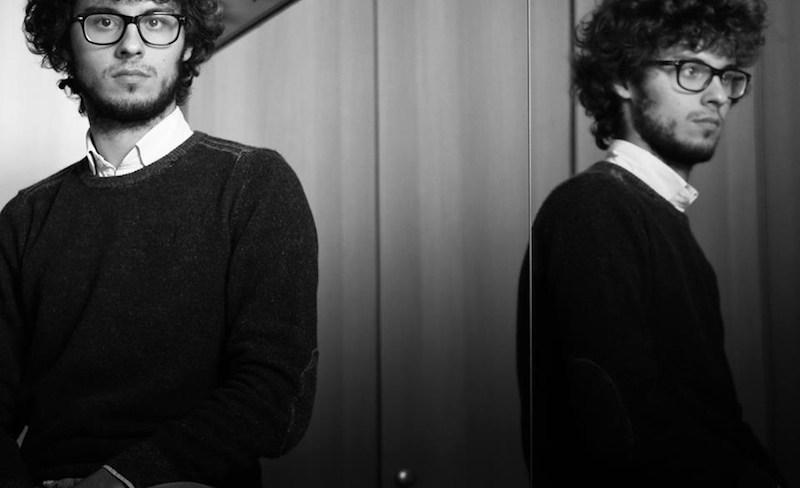 "Luca Andreini (18), regista di ""Rumoroso silenzio"""
