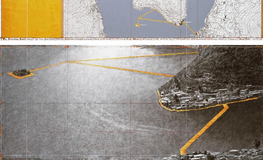 """""""The Floating Piers"""", il nuovo progetto di Christo"""