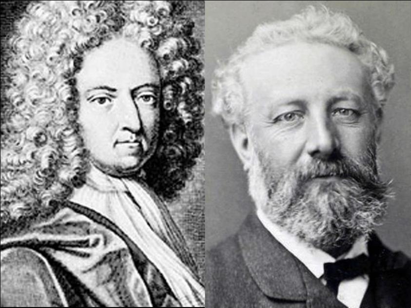 Daniel Defoe e Jules Verne, pionieri della letteratura di viaggio e d'avventura