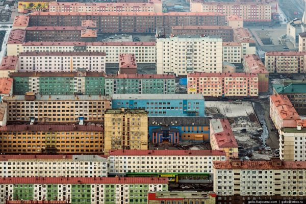 Norilsk, North Siberia, Russian Federation
