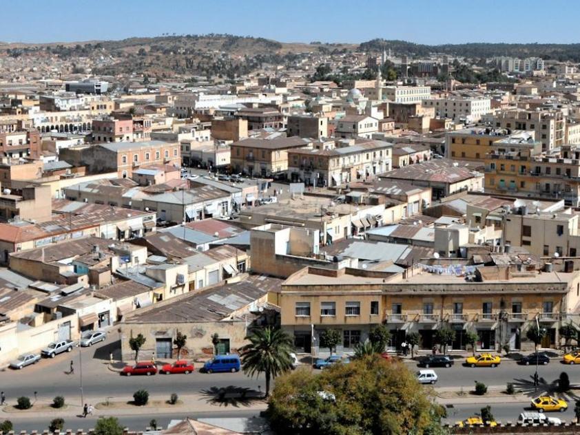Asmara - Capitale d'Eritrea