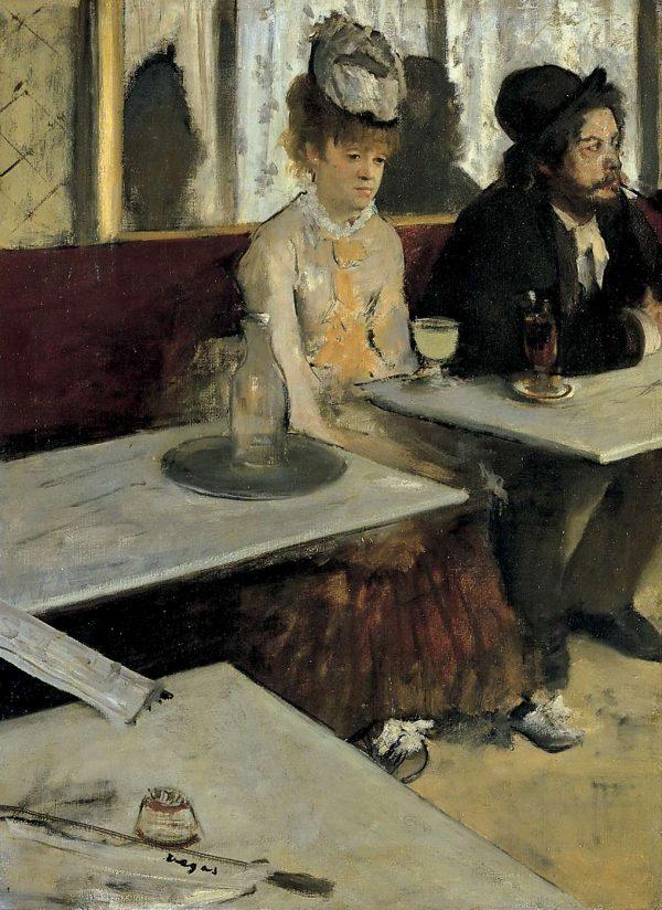 Edgar Degas, L'assenzio (1875-1876)