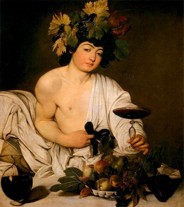 Caravaggio, Bacco (1596-1597)