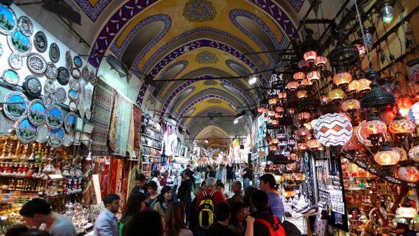 Gran Bazaar in Istanbul.